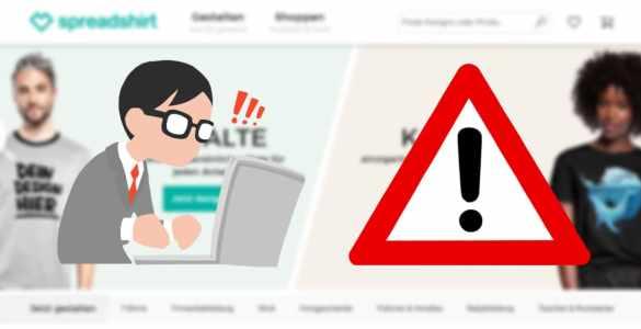 Spreadshop wurde gehackt: Hacker haben Zugriff auf Adressen, Passwörter, PayPal usw. erhalten 1