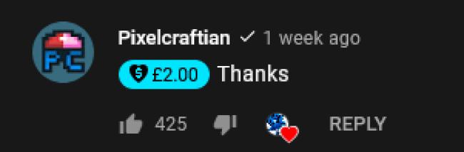 YouTube Danke Button: Creators unter einem Video unterstützen 2