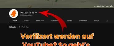 Verifiziert werden auf YouTube - So geht's 3