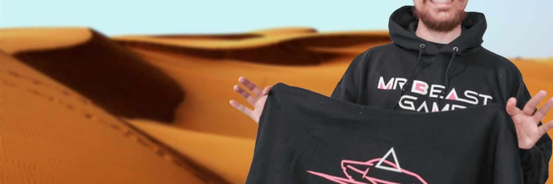 MrBeast sucht 100 Teilnehmer für Squid Game, aber nur für Merch-Käufer 1