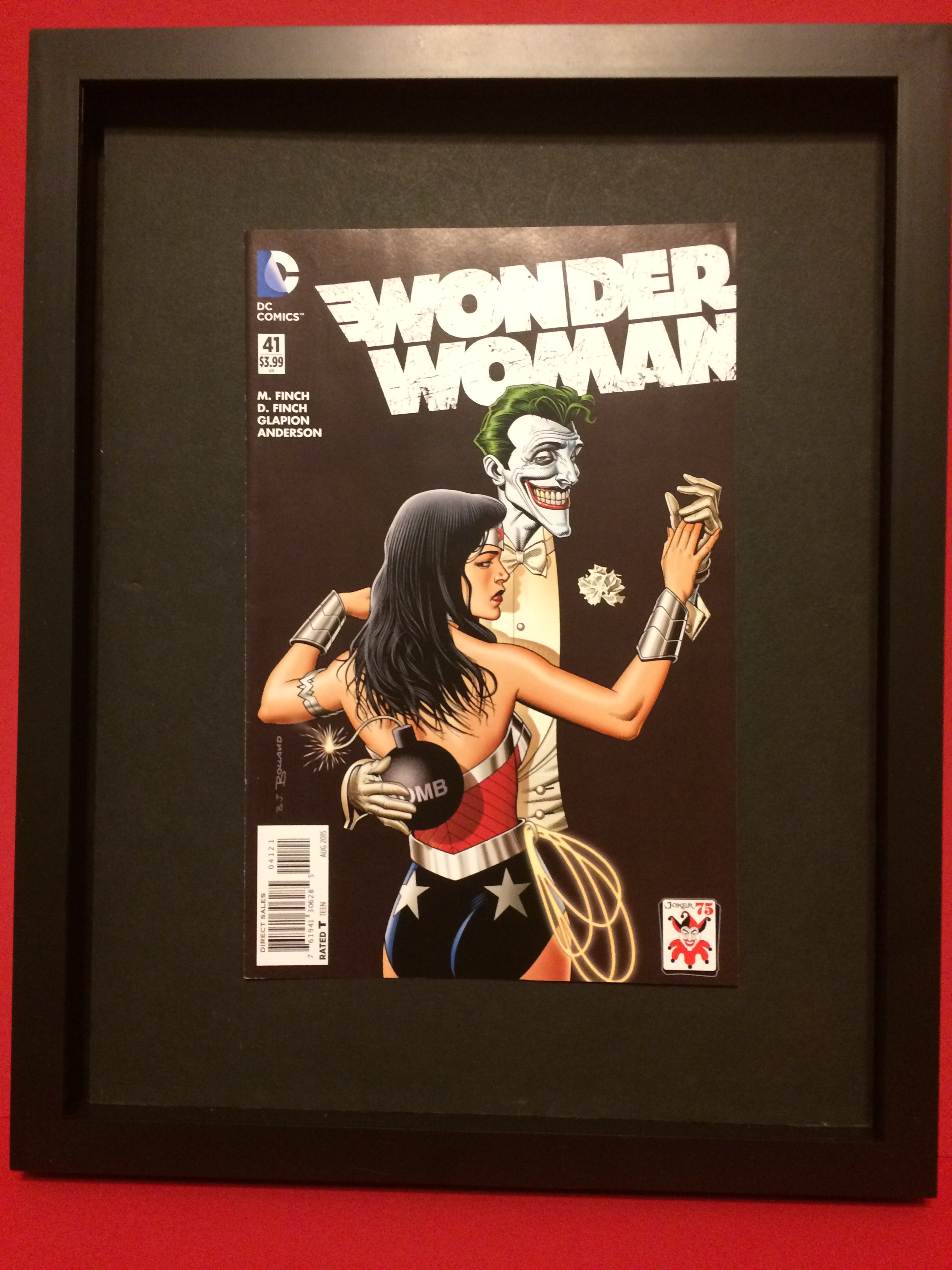 Wonder Woman Issue #41 Comic Book Cover For Sale