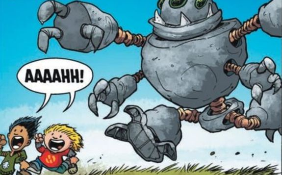 Comic Review - Hilo: The Boy Who Crashed to Earth