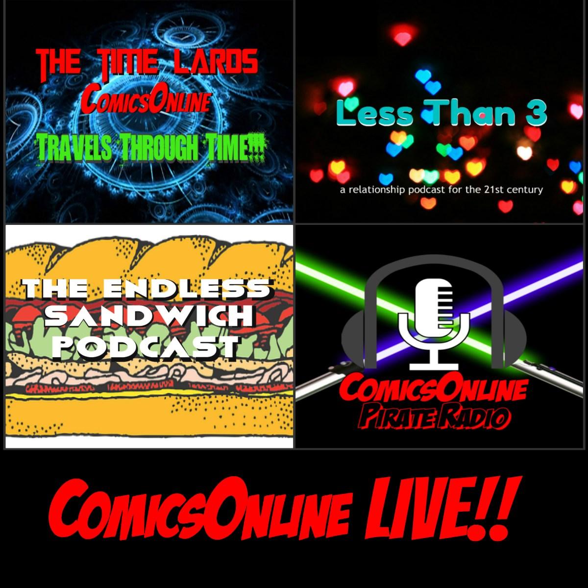ComicsOnline Podcasts!