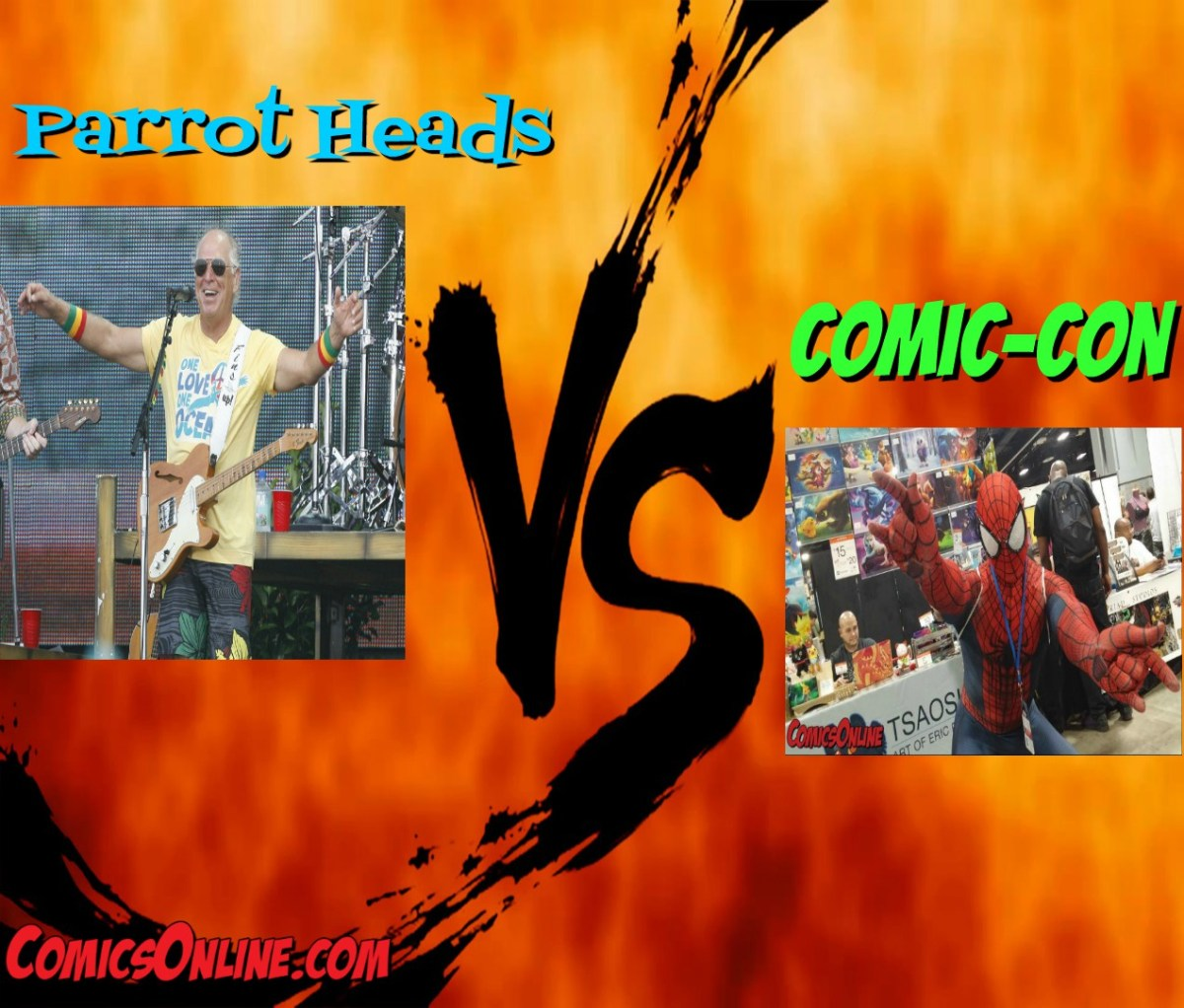 Editorial: Parrot Heads vs Comic-Con