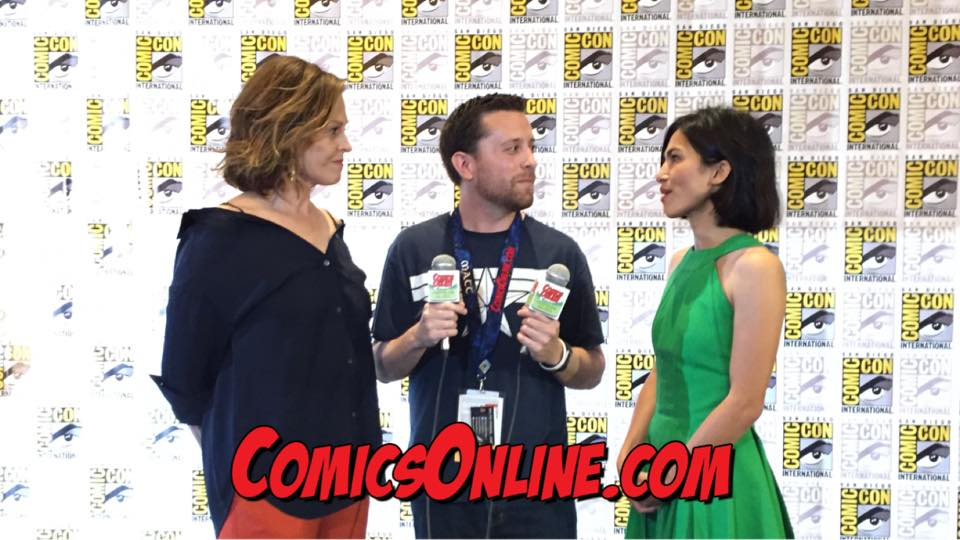 SDCC 2017: The Defenders - Interview with Sigourney Weaver and Elodie Yung