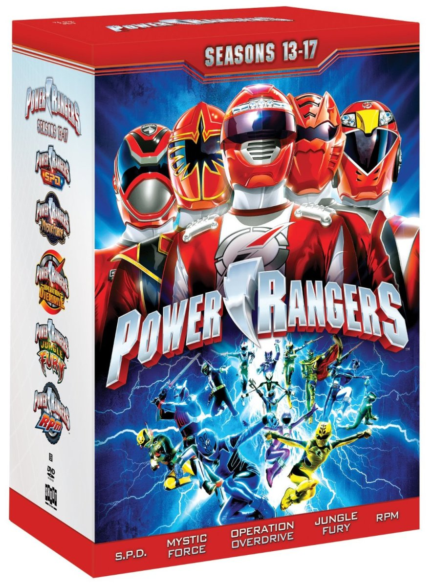 DVD Review: Power Rangers Seasons 13-17