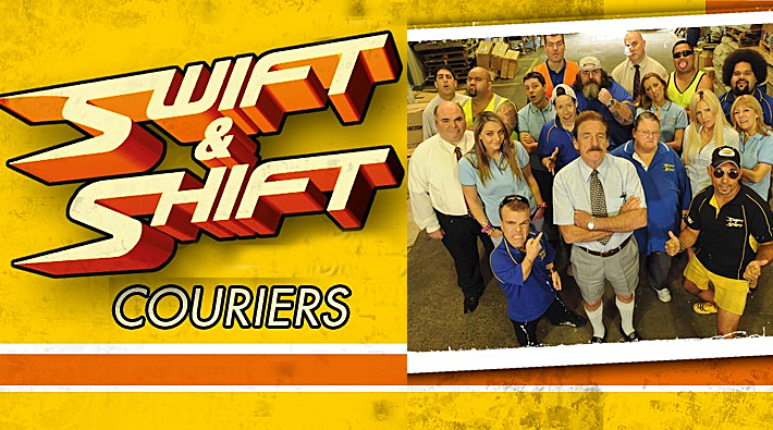 DVD Review: Swift & Shift Couriers Series 1 + 2 Box Set