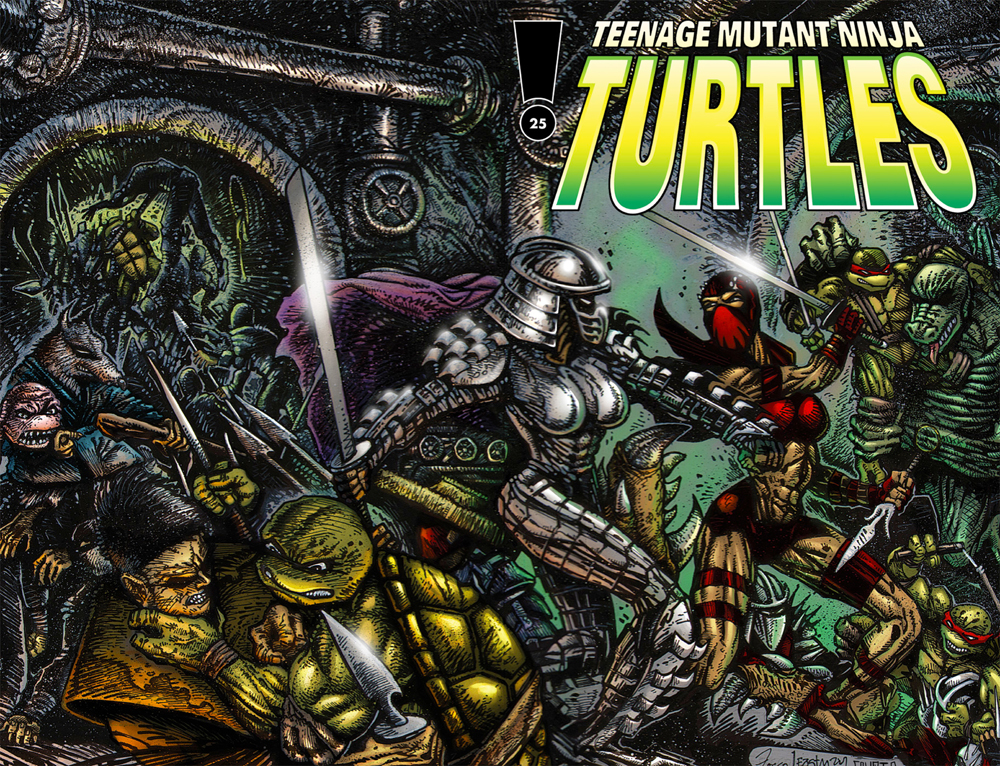 Comic Review: Teenage Mutant Ninja Turtles Volume 3 - Issues 24 & 25