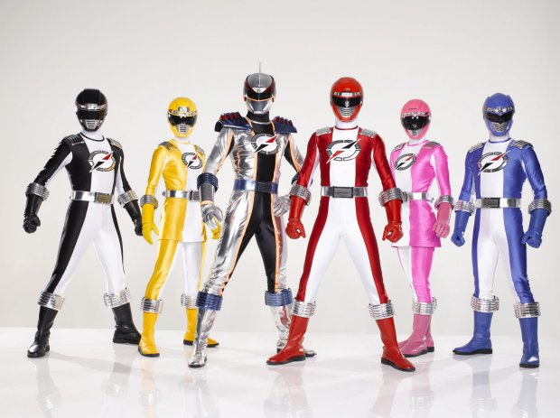 Power Rangers Overdrive