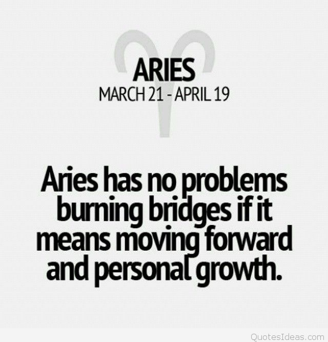 aries quotes and sayings with pictures