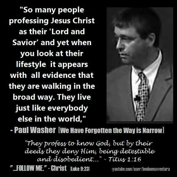 christian quotes paul washer quotes narrow way
