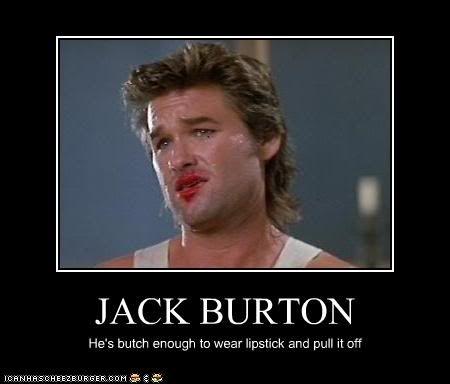 jack burton celebration of being a man best movie quotes