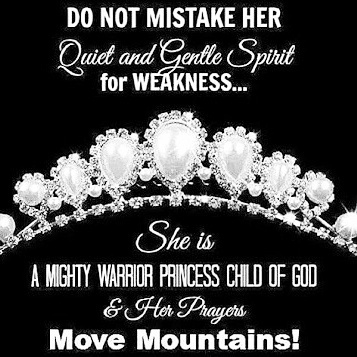 mighty warrior princess child of god on we heart it