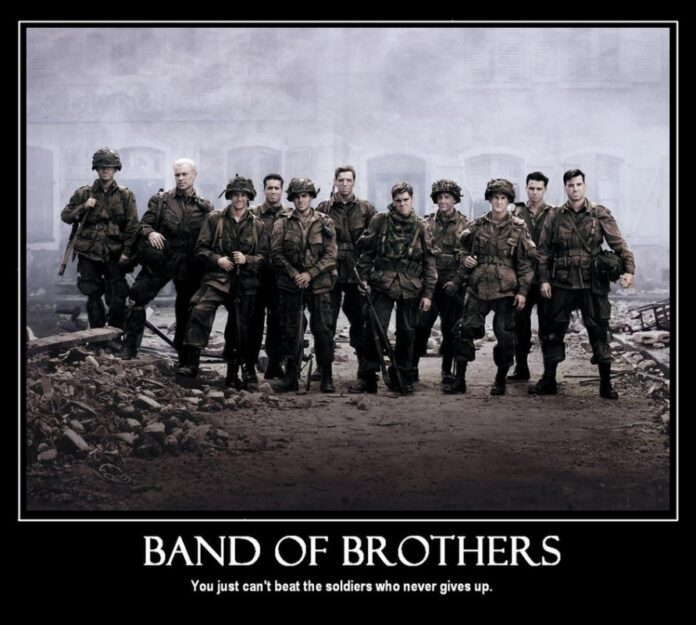 band of brothers tv show quotes sayings band of brothers