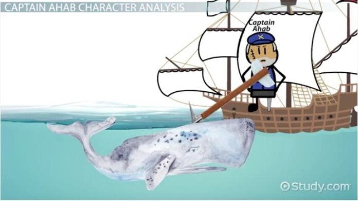 captain ahab in mo dick character analysis quotes