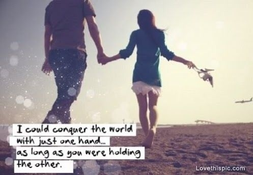cute holding hands quote quote number 611718 picture quotes