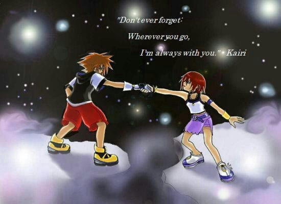 the randomness of my life kingdom hearts quotes