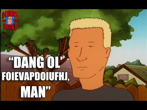 best of boomhauer on king of the hill funniest quotes