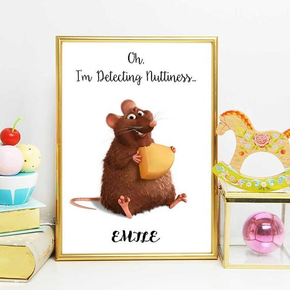 ratatouille wall art disney quotes emile ratatouille printable quote nursery decor instant download remys brother