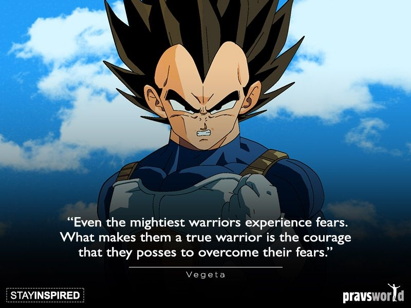 vegeta warrior quotes goku quotes gaelic blessing