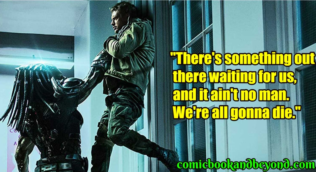 100 predator quotes which will keep you engrossed comic