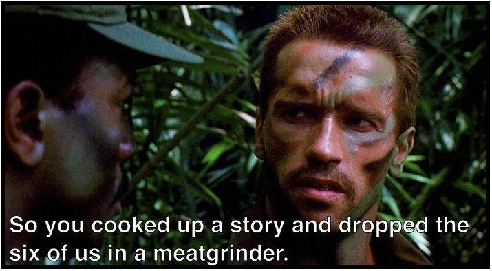 predator quote subtitled predator transcription