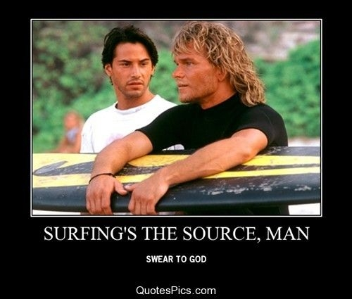 surfings the source man point break quotes pics
