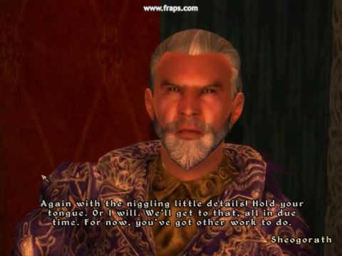 oblivion sheogorath body part quotes