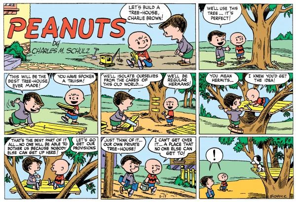 Peanuts Every Sunday, 1952-1954