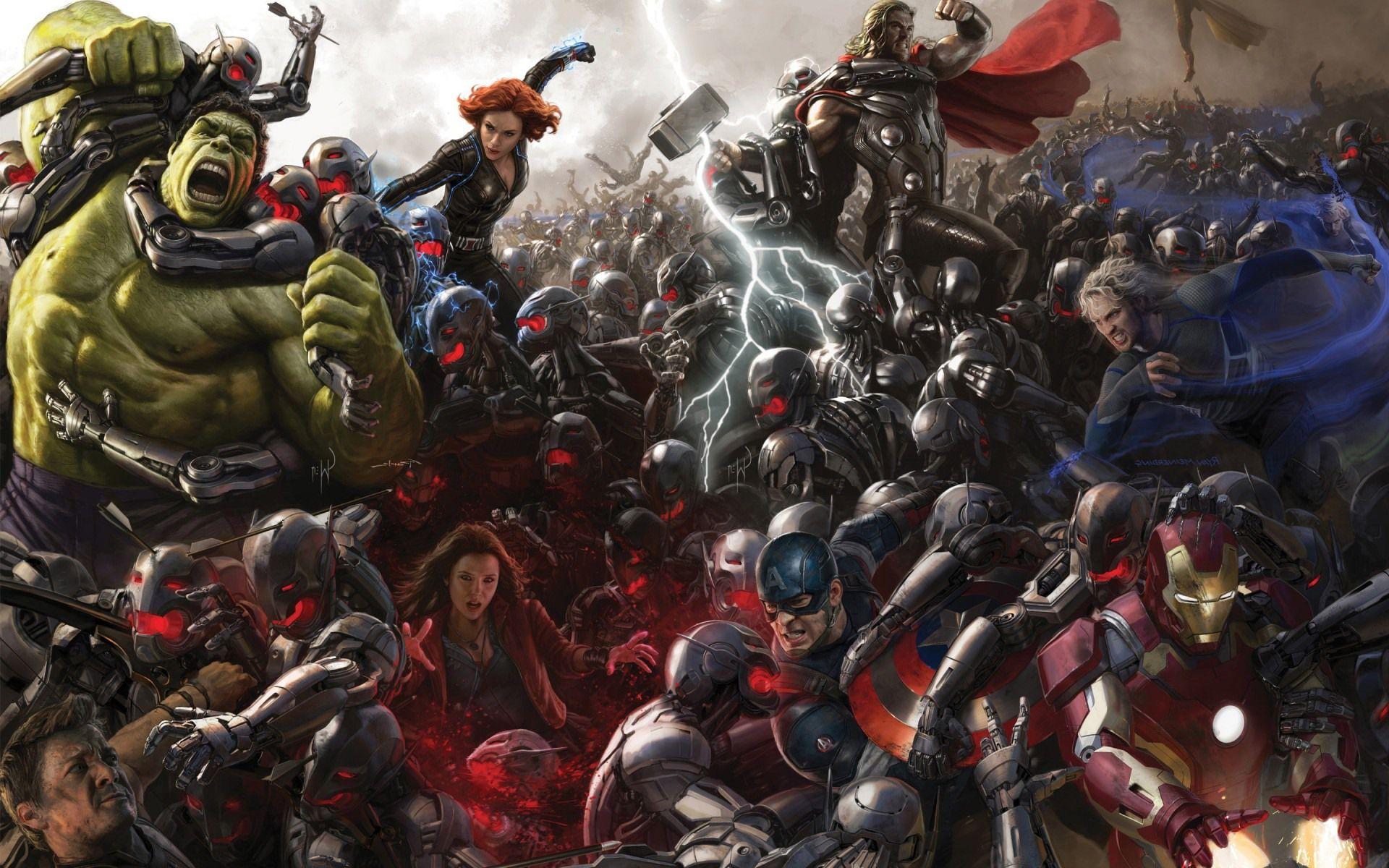 Avengers: Age of Ultron, concept art inediti di Ultron e della ...