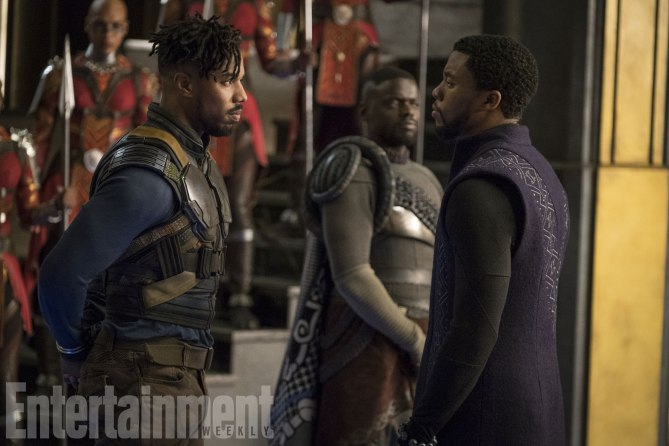 Black Panther, Entertainment Weekly ci regala tantissime immagini inedite