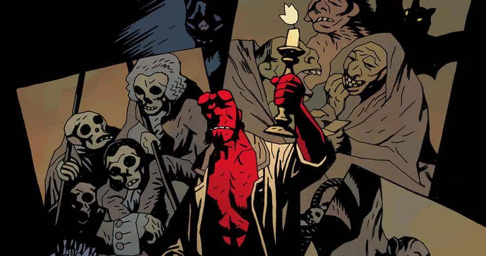 Mike Mignola non è molto coinvolto nel reboot di Hellboy