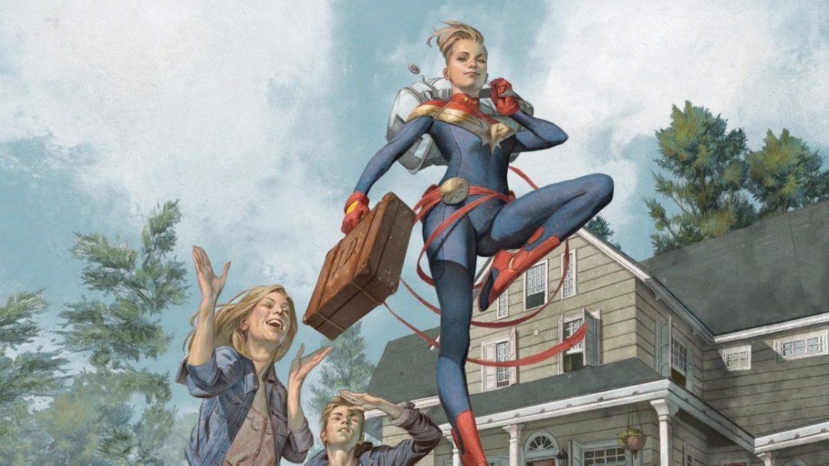 Marvel Comics ridefinisce le origini di Carol Danvers