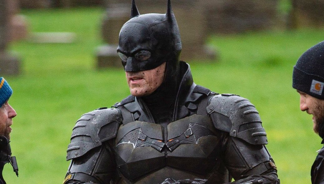The Batman: le prime foto rubate da Glasgow