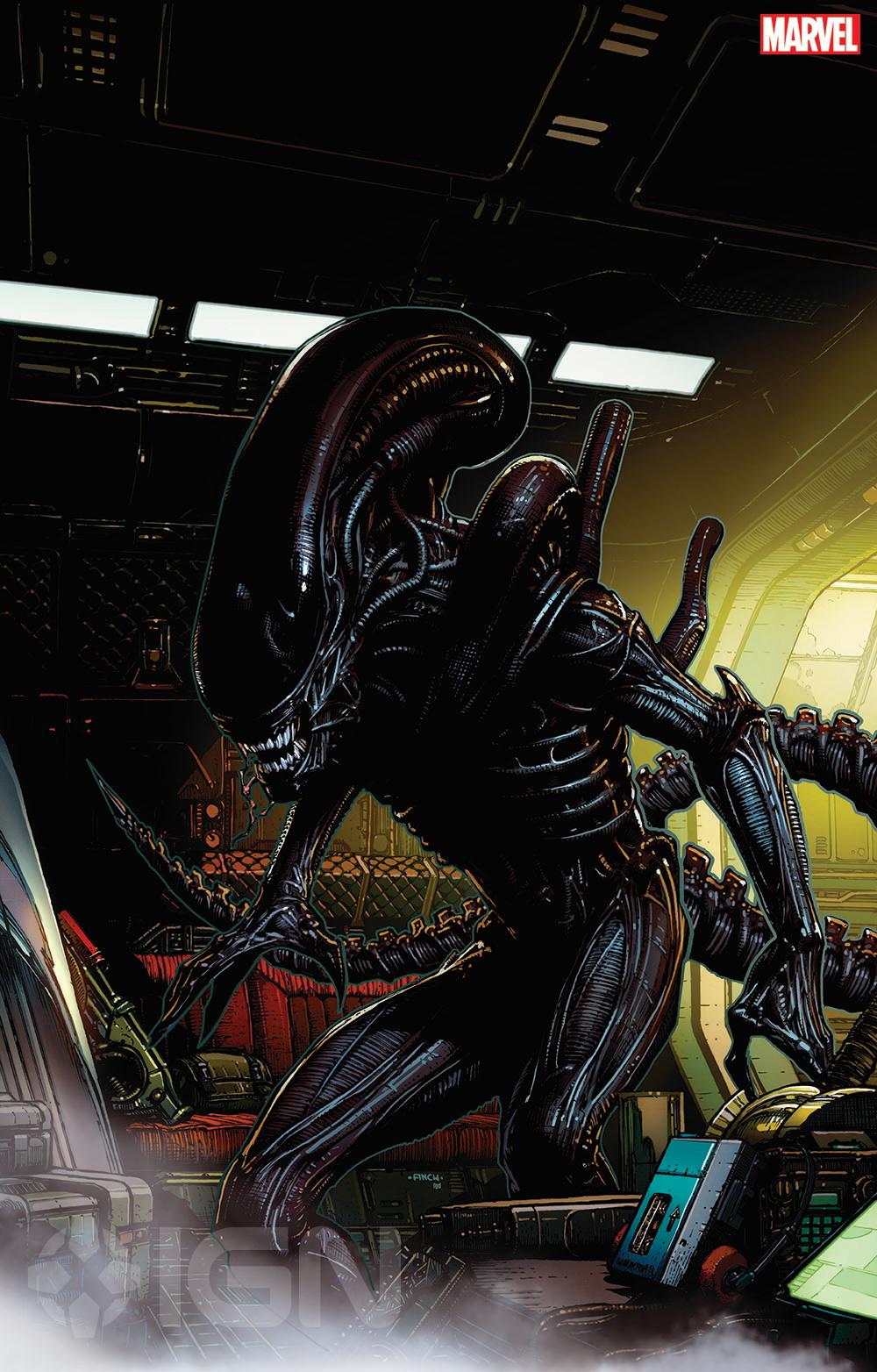 Alien Predator Marvel