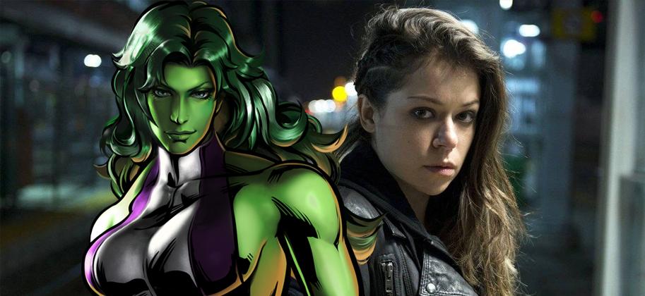 She-Hulk Tatiana Maslany