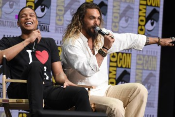 Ray Fisher Jason Momoa