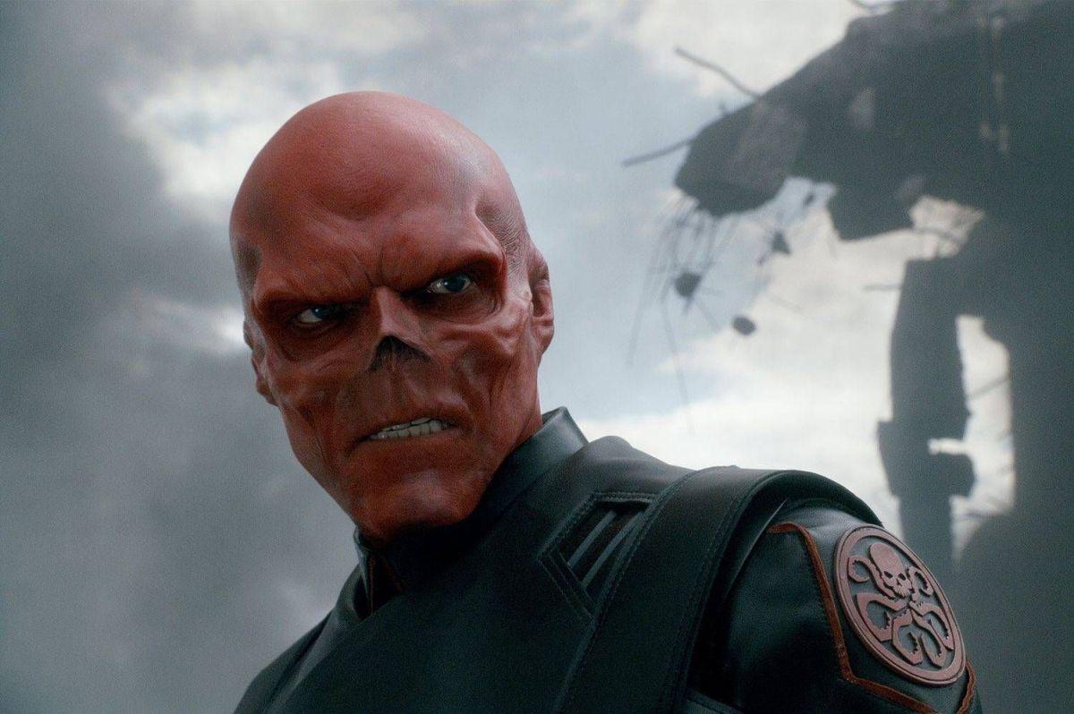 Teschio Rosso Marvel Studios Captain America