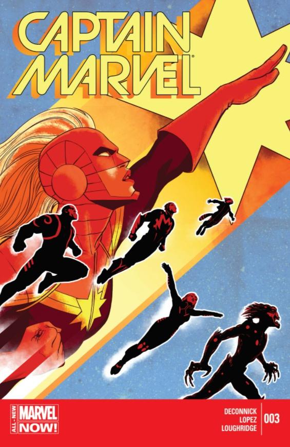 Ms. Marvel Captain Marvel