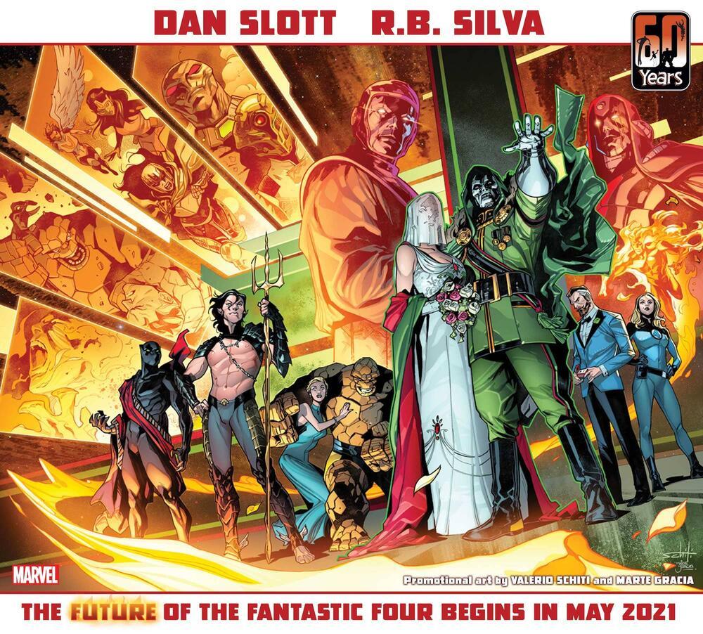 Fantastici 4 Dottor Destino Marvel
