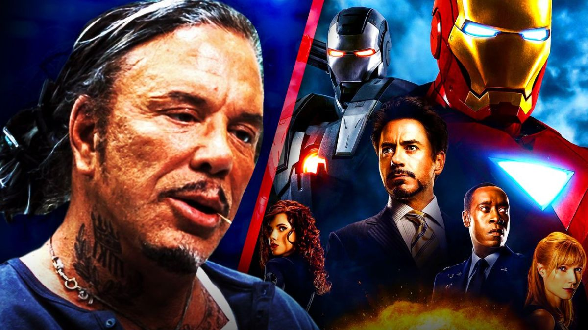 Mickey Rourke Iron Man 2 Marvel Studios