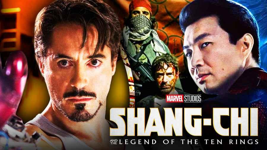 Shang-Chi Dieci Anelli Iron Man