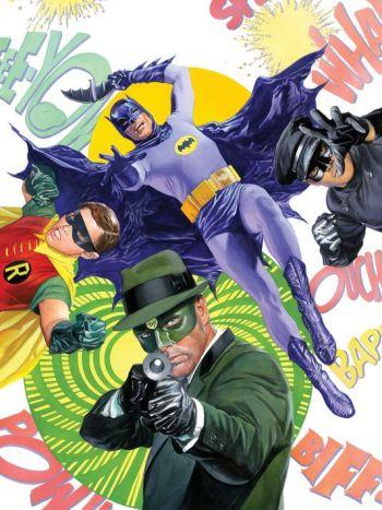 Batman '66 meets The Green Hornet,