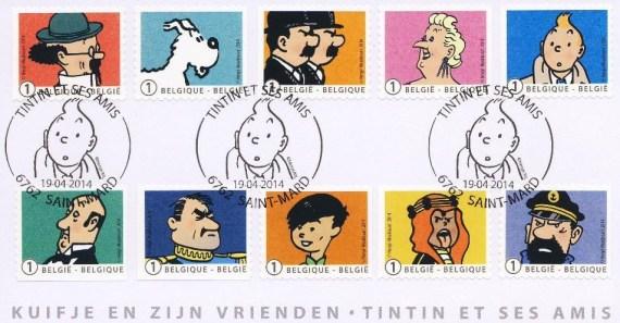timbres-tintin