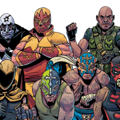 En esta esquina: The Masked Republic Luchaverse/ The Complete One-Shots Collection