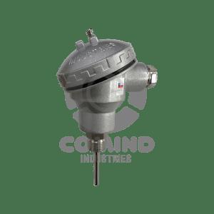 Cabezal PT-100 con rosca