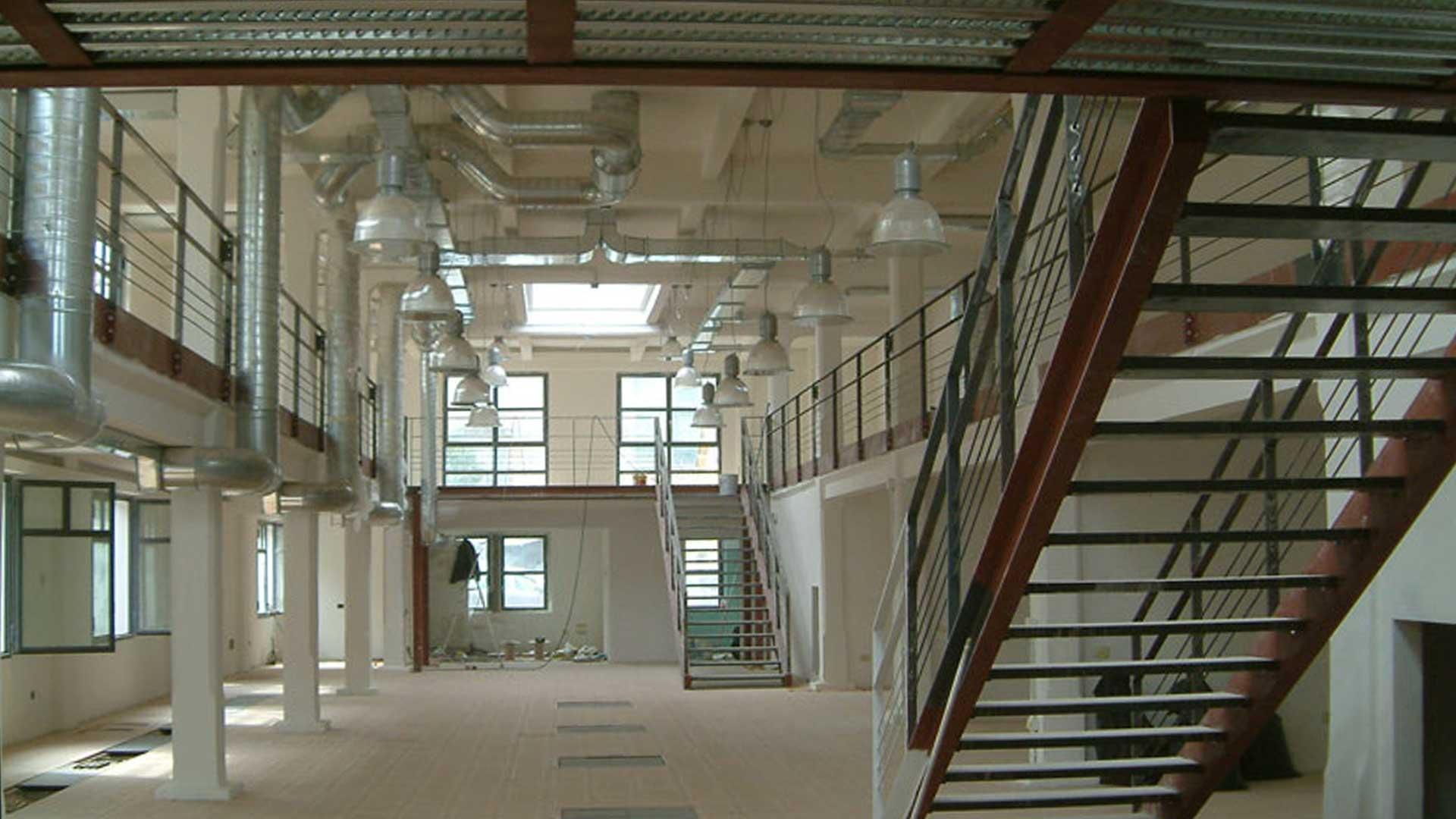 architettura e recupero di spazi industriali