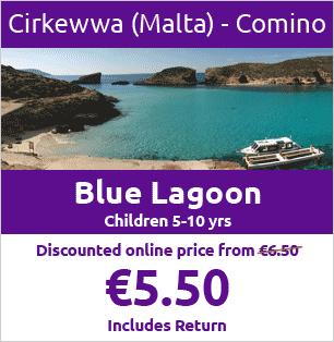 CIRKEWWA to COMINO Return