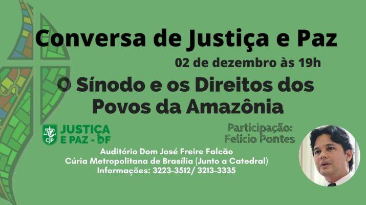 O Sínodo e os Direitos dos Povos da Amazônia