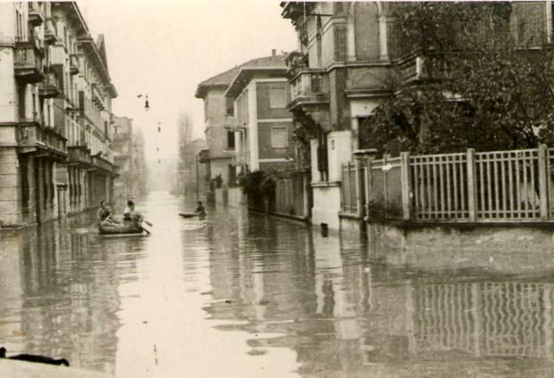 Esondazione Seveso 60 anni fa
